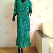 Одежда handmade. Livemaster - original item dress up emerald. Handmade.