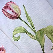 Картины и панно ручной работы. Ярмарка Мастеров - ручная работа Тюльпан. Handmade.