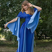 Одежда ручной работы. Ярмарка Мастеров - ручная работа Платье-трансформер 4в1. Handmade.