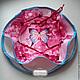 Забронировано  Пасхальница конфетница текстильная пасха