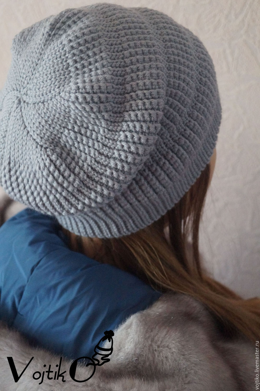 бини шапка крючком схема мк