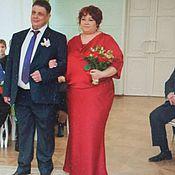 Одежда handmade. Livemaster - original item Red wedding dress