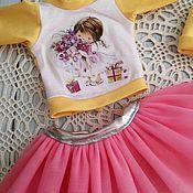 Одежда для кукол ручной работы. Ярмарка Мастеров - ручная работа Костюмчик  для текстильных кукол. Handmade.