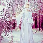 Свадебный салон ручной работы. Ярмарка Мастеров - ручная работа Snow Maiden muff. Handmade.