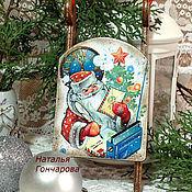 """Подарки к праздникам ручной работы. Ярмарка Мастеров - ручная работа саночки на елку """"Почта деда Мороза"""". Handmade."""