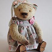Куклы и игрушки ручной работы. Ярмарка Мастеров - ручная работа Hello Teddy 2016 - Рози, плюшевый медвежонок. Handmade.