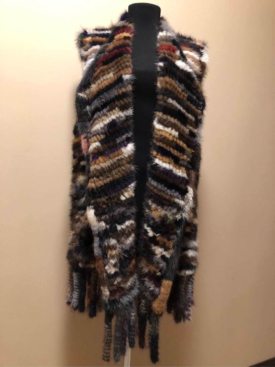 Knitted mink vest ' KENZO', Vests, Moscow,  Фото №1