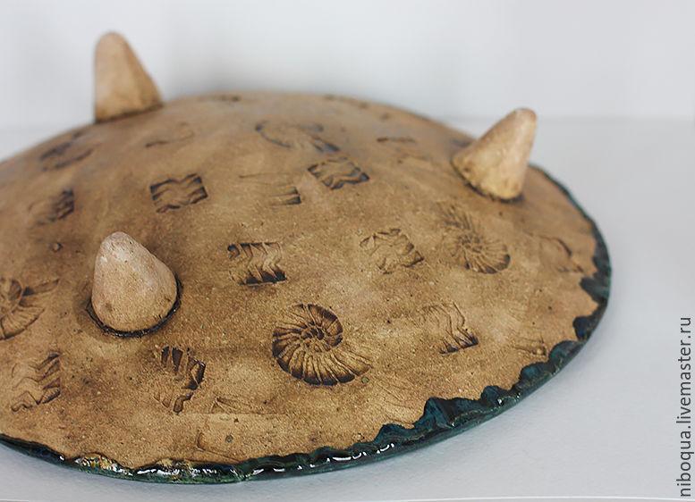 Блюдо керамическое - Per aspera ad astra