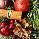 Новый год 2017 ручной работы. Новогоднее дерево. katarios.decor. Ярмарка Мастеров. Подарок, рождественский венок, ёль, Каштаны