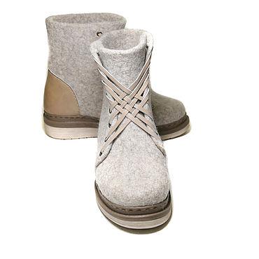 Обувь ручной работы. Ярмарка Мастеров - ручная работа Валяные ботинки Runners. Handmade.