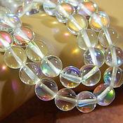 Материалы для творчества handmade. Livemaster - original item Beads Opal white 10 mm piece. Handmade.