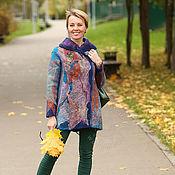 """Одежда ручной работы. Ярмарка Мастеров - ручная работа куртка """"Осенние листья"""". Handmade."""