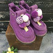 Русский стиль handmade. Livemaster - original item Boots casual