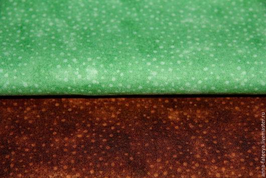Шитье ручной работы. Ярмарка Мастеров - ручная работа. Купить Ткань х/б 50х55 см. Handmade. Коричневый, хлопок для игрушек