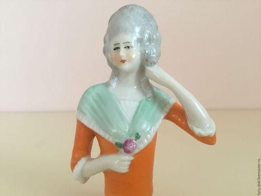 Винтажные куклы и игрушки. Ярмарка Мастеров - ручная работа. Купить Антикварная кукла половинка Half doll. Handmade. Старинная кукла