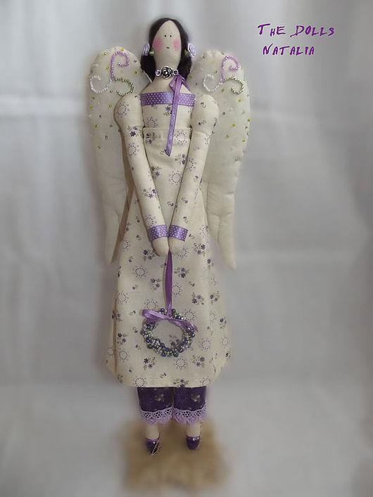 Куклы Тильды ручной работы. Ярмарка Мастеров - ручная работа. Купить Винтажный ангел  Лавия. Handmade. Подарок на любой случай