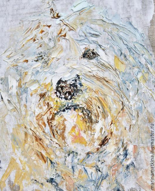 собачье место в квартире, как обозначить место для собаки в квартире, подарок аксессуар для собаки, собачий жетон, объемная фактурная рельефная живопись мастихином, Марина Маткина Пермь