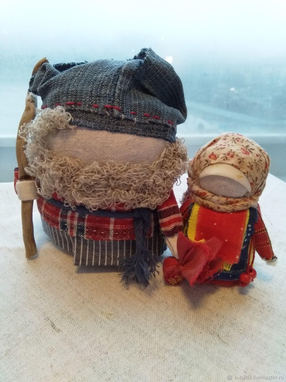 Традиционные народные куклы Зерновушка (Крупеничка) и Богач, Народная кукла, Москва,  Фото №1