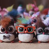 Куклы и игрушки ручной работы. Ярмарка Мастеров - ручная работа Совята Назар, Епифан и Валентин. Handmade.