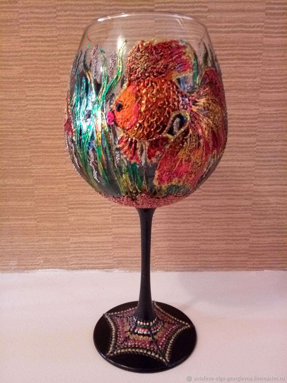 Glasses: Goldfish, Wine Glasses, Krasnodar,  Фото №1
