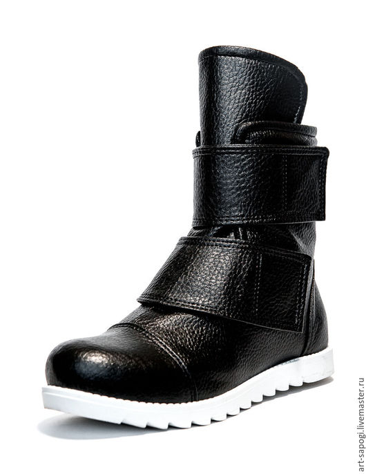 Обувь ручной работы. Ярмарка Мастеров - ручная работа. Купить Демисезонные ботинки 6d-46 (СБ). Handmade. кеды