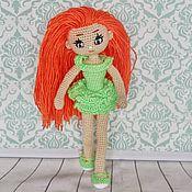 Куклы и игрушки handmade. Livemaster - original item Gentle doll Angelica. Red-haired beauty.. Handmade.