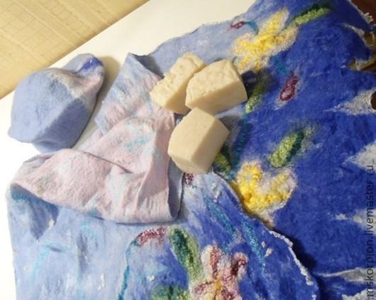 Мыло для валяния с маслом муру-муру