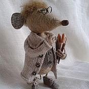 Куклы и игрушки handmade. Livemaster - original item Economic rat Шмыг. Handmade.