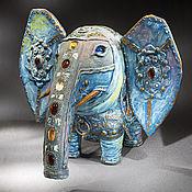 Для дома и интерьера ручной работы. Ярмарка Мастеров - ручная работа Слон-весельчак. Handmade.