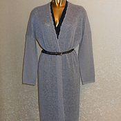 Одежда ручной работы. Ярмарка Мастеров - ручная работа Кардиган - пальто из мохера. Handmade.