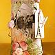 """Карандашницы ручной работы. Ярмарка Мастеров - ручная работа. Купить Карандашница """"Романтический Париж"""". Handmade. Бледно-розовый, предмет интерьера"""