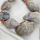 Для украшений ручной работы. Ярмарка Мастеров - ручная работа. Купить ОКАМЕНЕЛОСТЬ бусины необработанные. Handmade. Необработанные камни, бусины
