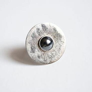 """Украшения ручной работы. Ярмарка Мастеров - ручная работа """"Проксима Центавра"""" кольцо с гематитом. Handmade."""