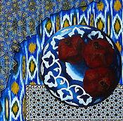 Картины и панно ручной работы. Ярмарка Мастеров - ручная работа Восточная фантазия, масло, 40x60см. Handmade.