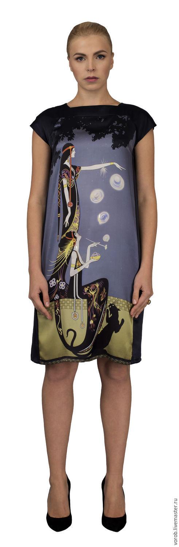 Шелковое платье Art Deco, Платья, Москва,  Фото №1
