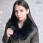 Одежда ручной работы. Ярмарка Мастеров - ручная работа Валяное зимнее пальто Oliva. Handmade.