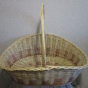 Для дома и интерьера handmade. Livemaster - original item basket for wood, wicker drovnitsa. Handmade.