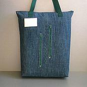 Сумки и аксессуары handmade. Livemaster - original item Shopper bag SMOG. Handmade.