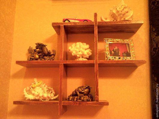 Мебель ручной работы. Ярмарка Мастеров - ручная работа. Купить Обычная полка. Handmade. Полка, дерево
