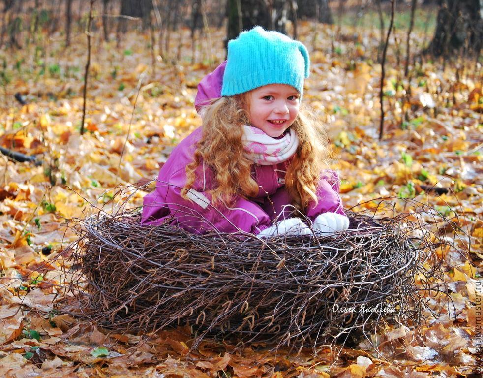 Березовое гнездо для фотосессий, Корзины, Москва,  Фото №1