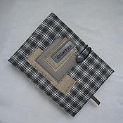 Канцелярские товары ручной работы. Ярмарка Мастеров - ручная работа Блокнот в клеточку. Handmade.