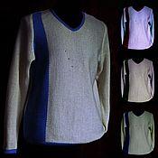 Мужская одежда handmade. Livemaster - original item 100% linen.Jumper