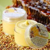 Косметика ручной работы handmade. Livemaster - original item The Honey cream for normal and dry skin. Handmade.