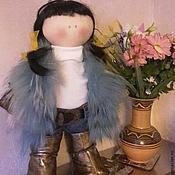 Куклы и игрушки ручной работы. Ярмарка Мастеров - ручная работа кукла тильда большеножка. текстильная кукла. украшение интерьера.. Handmade.