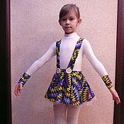 Работы для детей, ручной работы. Ярмарка Мастеров - ручная работа Платье, костюм для  выступлений, фигурное катание. Handmade.