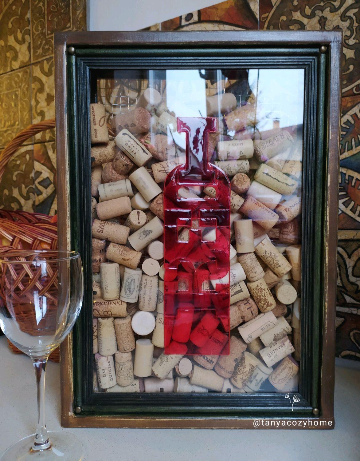 Копилка RED для винных пробок и пробок от шампанского, Копилки, Москва,  Фото №1