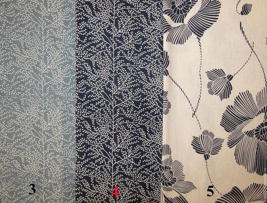 Шитье ручной работы. Ярмарка Мастеров - ручная работа. Купить Лен цветной арт.69 ЛЦ (Корея). Handmade. Синий