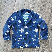 Работы для детей, handmade. Livemaster - original item Boy`s jacket. Handmade.