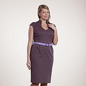 Одежда ручной работы. Ярмарка Мастеров - ручная работа 139: летнее платье офисное, повседневное платье без рукава. Handmade.