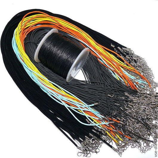 Вощеный шнур купить Каучуковый шнур купить бархатный шнур купить шнуры для украшений купить шнуры с застежкой купить vsedlabiju Все для БИЖУ